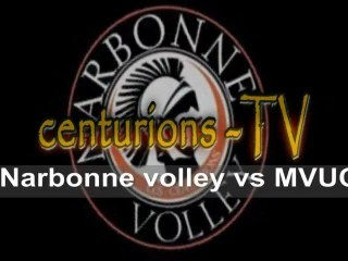 reportage Narbonne volley Vs MVUC