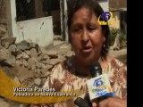 Lima Rotura de tuberia de agua afecta a pobladores de Tablada de Lurin