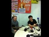 l'auteur compositeur Ché-dric avec Jbb sont guitariste interview radiophonique par Jérôme Chero le 14Mars2012.Dans l'émission toutes est a nous sur Radio entre 2mer.
