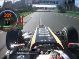 F1 Kimi Raikkonen Onboard Melbourne Qualification 2012
