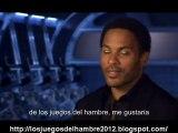 The Hunger Games cast interview Lenny Kravitz subtitulos español
