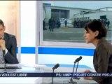 """Najat Belkacem invitée de """"La voix est libre"""" Rhône-Alpes"""
