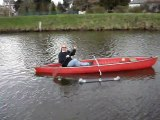 canoe teste avec des stabilisateurs