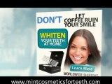 Teeth Whitening Reviews - Mint Cosmetics
