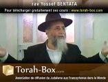 La Torah Est Destinée À L'homme! - rav Yossef BENTATA (Torah-Box.com)