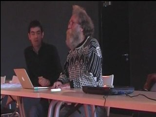 l'atelier de Yann kervarec et Eric Delcroix sur l'identité numérique pour les collégiens