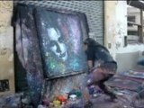 Malcolm Roxs ft Sven Vath in Germany. painting the cure