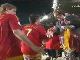 Alemania 0-1 Espana. Final Eurocopa 2008. Gol y Celebracion