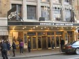 Glen Hansard spotted at the Bernard B. Jacobs Theatre