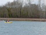 Canoe-kayak selective inter-regions Sud Fond au lac des Dagueys à Libourne  sur http://naviguerenaquitaine.com v5