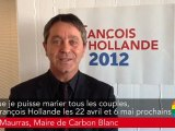 Engagement 31 - Franck Maurras (Carbon Blanc) s'engage