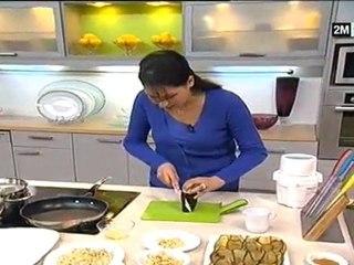 souris de mouton recette choumicha aubergine farcie