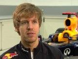 Red Bull Racing Car Launch Intervew Sebastian Vettel