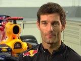 Red Bull Racing Car Launch Interview Mark Webber