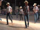 West Party country line dance - WILD COUNTRY - Voghera Country Festival 2010