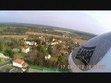 Planeur Multiplex easyglider en caméra embarquée ( vol au dessus de Tosse )