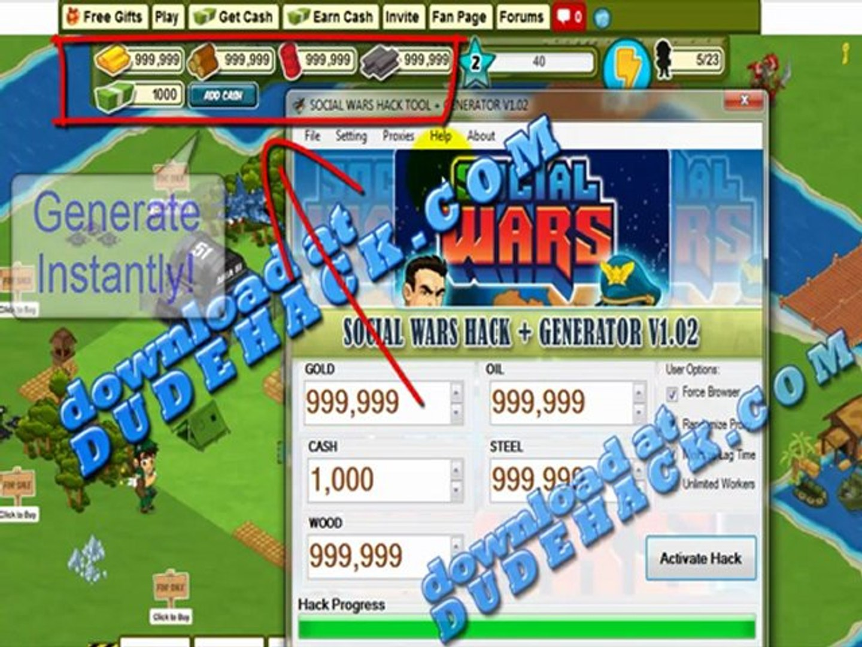 Social Wars Cheat Engine Cheat (Working Social Wars Cash Cheat Engine 2012) V1.02