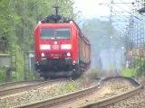 Hammerstein, 151, 155, ERS 189, Alpha Trains 185, Railion 185, DBAG 185, CB Rail E186, 152, 143, 425