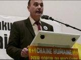 Discours de Jean Marc Governatori lors de la Chaîne Humaine contre le Nucléaire