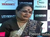 Various Singer Usha Uthup At FICCI Frames Excellence Awards 2012