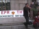 manifestation anti THT à Avranches - samedi 27 septembre 2012