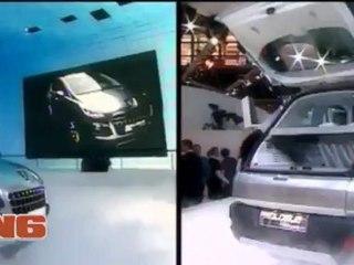 Mondial 2012 : La Fascination par Mercedes et le Crossover par Mini (archives 2008)