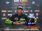 Kenan Sofuoğlu dünya şampiyonu oldu