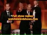 2012 Emmy Award Homeland Writers accept 2012 Emmy Awards