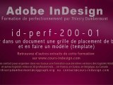 id-perf-200-01 - Grille de placement blocs et modèle template - InDesign - SD - Thierry Dambermont