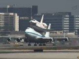 Shuttle Endeavour Lands in Los Angeles (HD)