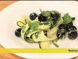 Tagliatelle de courgettes au parmesan