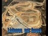 Moto belle course ledenon