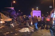 Zincirleme trafik kazası 9 ölü