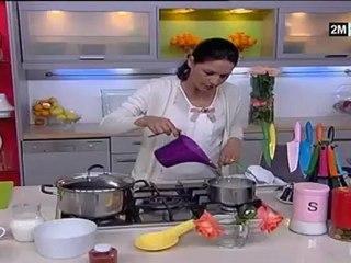 dessert choumicha 2012 riz au lait et fraise