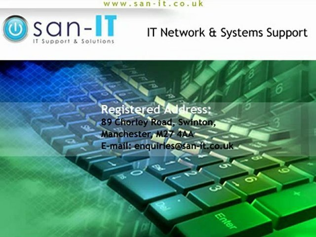 SAN-IT –  A Professional IT Support Services Provider Company in Cheshire