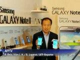 Galaxy Note II gegen iPhone5: Riesen-Smartphone von Samsung