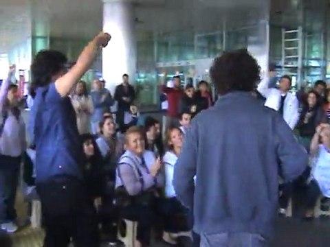 TUM-İGD direnişlerinin 115. gününde THY işçilerinin yanındaydı