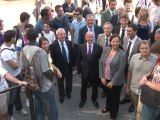 Visite des nouveaux bâtiments de l'université Nice Sophia-Antipolis campus Sophi@Tech