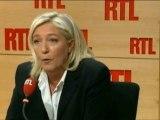 Marine Le Pen invitée de Marc-Olivier Fogiel sur RTL