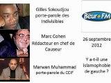 Débat sur l'islamophobie sur beur FM