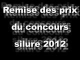 Remise des prix du concours silure 2012