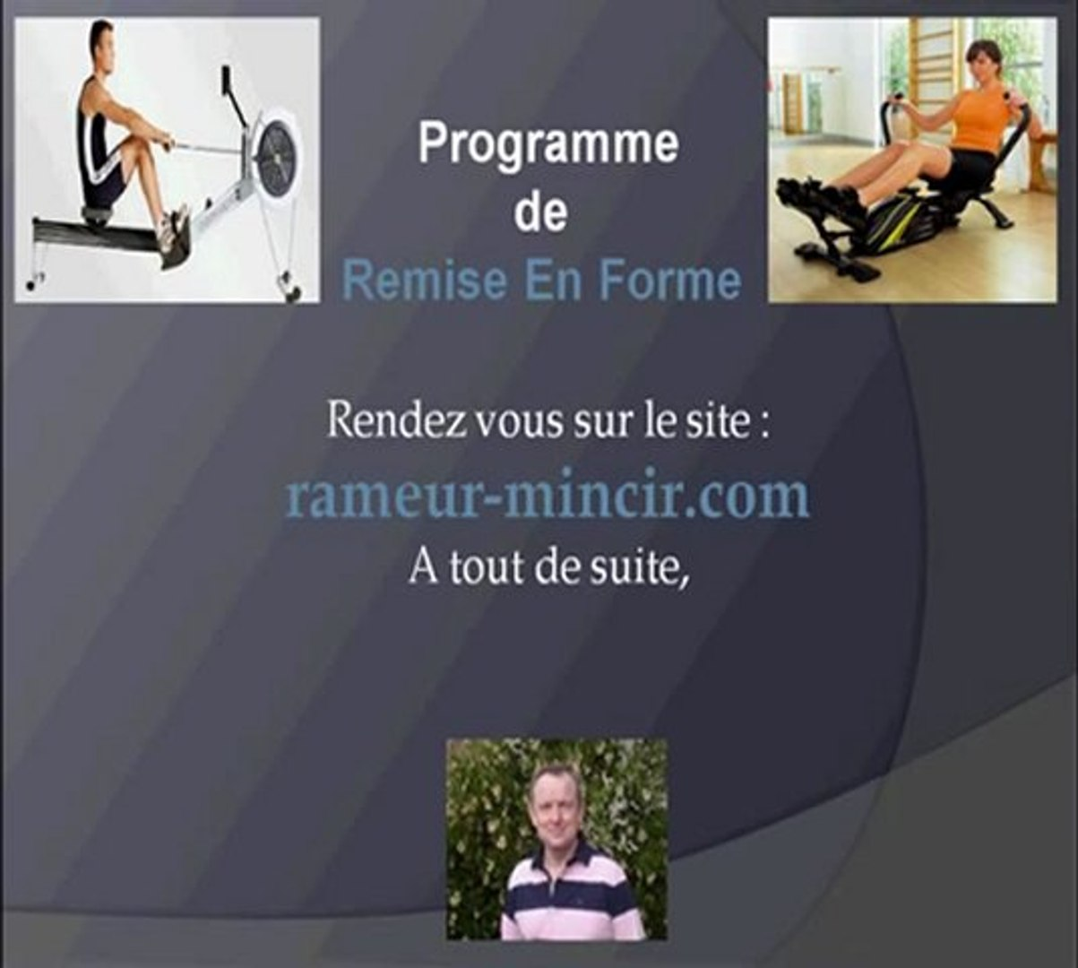 Rameur competition rower
