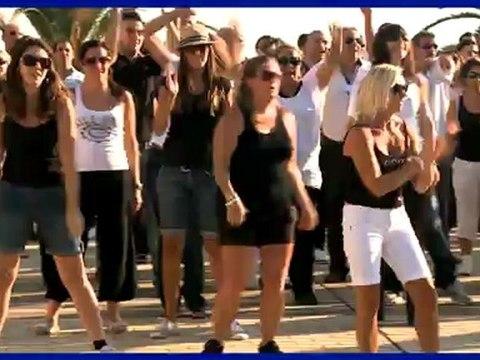 La Poste : Flashmob de la convention bancaire du Var