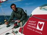 Interview Francine Leca, fondatrice de Mécénat Chirurgie Cardiaque sur RMC - Vendée Globe 2012