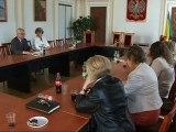 73. rocznica sowieckiej agresji na Polskę - spotkanie władz miasta z Młodzieżową Radą Miasta Ostrów Mazowiecka 2012