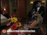 """Cesar Evora y Victoria Ruffo  se besan con pasión en """"La Madrastra"""""""