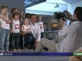 Reportage Mécénat Chirurgie Cardiaque  - Vendée Globe 2012
