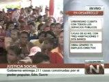 (Vídeo) Gobierno Bolivariano entregó 211 viviendas en el estado Sucre