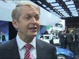 Mercedes-Benz Paris Motor Show 2012 World Premiere Dr. Thomas Weber