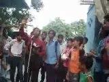 Gospel open air preaching by Evangelist Hemant & daughter Glory Daniels@Mangol puri Delhi India